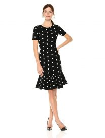 Milly Women s Polka Dot Mermaid Dress at Amazon