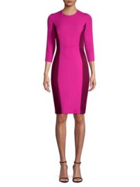 Milly scuba dress at Saks Off 5th