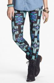 Mimi Chica Print Leggings at Nordstrom
