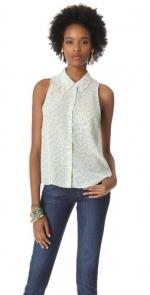 Mina blouse by Equipment at Shopbop