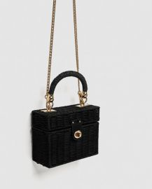 Minaudiere Bag with Braided Handle at Zara