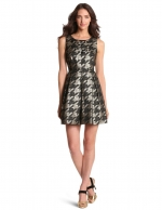 Mindy Kalings houndstooth dress by Miss Sixty at Amazon