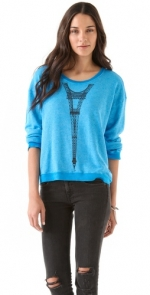 Mindys Eiffel Tower sweater at Shopbop