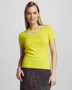Mindy's Kate Spade sweater at Neiman Marcus at Neiman Marcus
