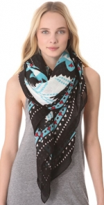 Mindy's Theordora and Callum scarf at Shopbop