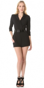 Mindy's black romper on The Mindy Project at Shopbop