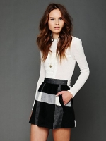 Mindy's check skirt at Free People