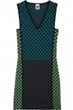 Mindy's checked dress at Net A Porter at Net A Porter