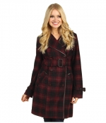 Mindy's plaid coat at 6pm at 6pm