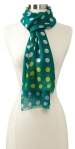 Mindy's polka dot scarf at Amazon