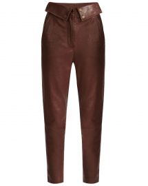 Minerva Leather Pants by Veronica Beard at Veronica Beard