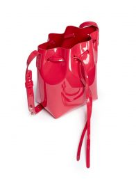 Mini Mini Leather Bucket Bag by Mansur Gavriel at Lane Crawford