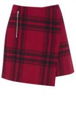 Mini Skirt in Oversiz Check at Karen Millen
