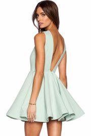 Mini a-line dress at Oasap