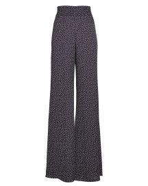 Minna Flared Polka Dot Trousers by Alexis at Intermix