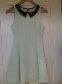 Mint Collared Dress at H&M