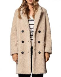 Mint Teddy-Bear Coat at Bloomingdales