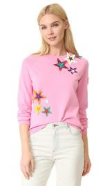 Mira Mikati Patched Star Sweater at Shopbop