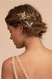 Mirabelle Hair Pins at BHLDN