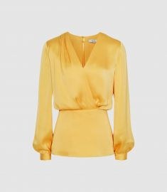 Miranda blouse at Reiss