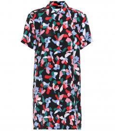 Mirelle printed silk dress at Mytheresa