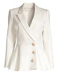 Misha Collection - Novalee Peplum Blazer at Saks Fifth Avenue