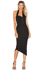 Misha Collection Donati Dress in Ebony from Revolve com at Revolve