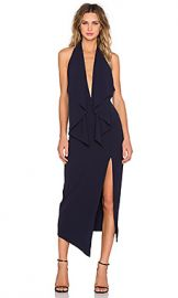 Misha Collection Lorena Dress in Navy from Revolve com at Revolve