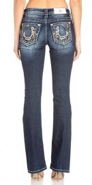 Miss Me Lucky Solstice Bootcut Jeans at Amazon