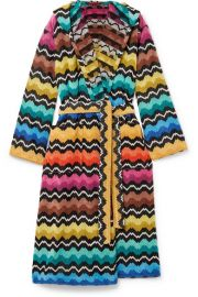 Missoni Home - Hooded cotton-terry robe at Net A Porter