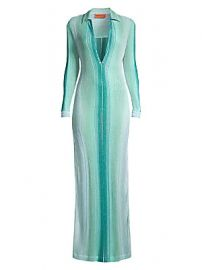 Missoni Mare - Long Lurex Coverup Caftan at Saks Fifth Avenue