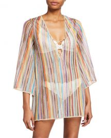 4095da8ff7 WornOnTV: Kyle's zig zag striped cover up on The Real Housewives of ...