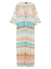 Missoni Mare Sunset metallic kaftan at Matches