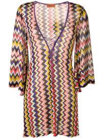 Missoni Mare zig-zag Pattern Beach Dress - Farfetch at Farfetch