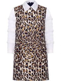 Miu Miu Brocade Leopard Dress - Farfetch at Farfetch