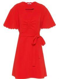 Miu Miu Faille Cady Dress - Farfetch at Farfetch
