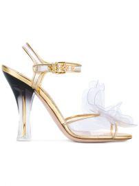 Miu Miu Transparent Gradient-effect Sandals at Farfetch