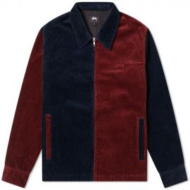 Mix Up Cord Jacket by Stussy at End Clothing