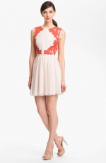 Mixed Media fit and flare dress by Ted Baker at Nordstrom
