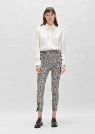 Mixed Snap Detail High Waisted Legging at La Garconne