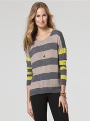 Mixed Stripe Sweater at C&C California