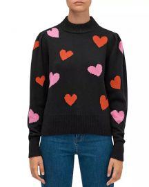 Mock-Neck Sweater at Bloomingdales
