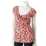 Mock layer top by Candies at Kohls