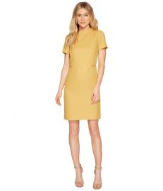 Mod Sheath Dress with Side Zippers by Tahari ASL at 6pm