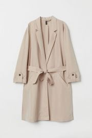 Modal Blend Trench Coat at H&M