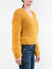 Mohair V Neck Sweater at Tootsies