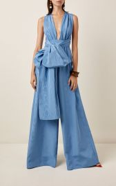 Moiré Faile Wide-Leg Jumpsuit at Moda Operandi