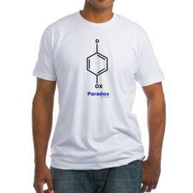 Molecular Paradox Tee at Cafepress