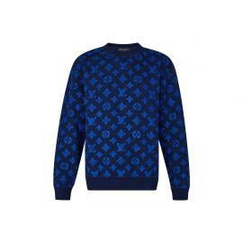 Monogram Jacquard Sweater by Louis Vuitton at Louis Vuitton