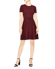 Montaigne Studded Knit Dress at Bloomingdales